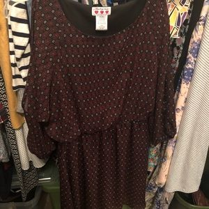 Open Sleeve dress